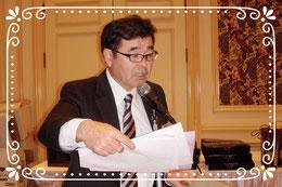 第1副会長 L.河上 哲