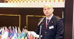 L.川田吉顕会長から新会員の紹会