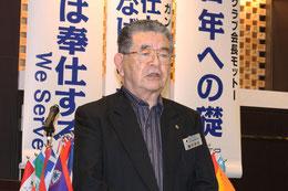 LCIF委員会委員 L.藤井 幸吉