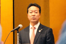 年頭の挨拶 西川将人旭川市長