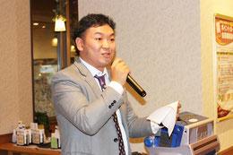 会員親睦委員長 L.上田 桂輔