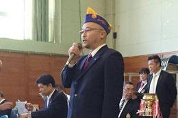 大会長挨拶 L.川田 吉顕会長