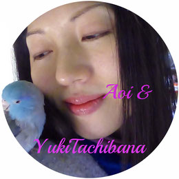立花雪 YukiTachibana  & Aoi    恐竜あおいと