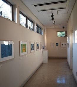 ●展示室への回廊
