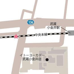 ●武蔵小金井駅ポート