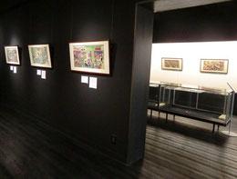 ●明治時代の養蚕関係の錦絵や商標の展示室
