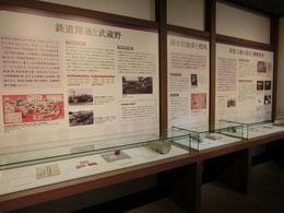 ふるさと歴史館は、展示室が2つあり、メインの第一展示室では古代から現代まで人々が武蔵野でどのようなくらしをしてきたかコンパクトな展示で実感できました