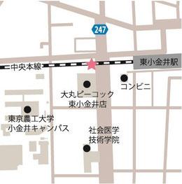 ●東小金井駅ポート