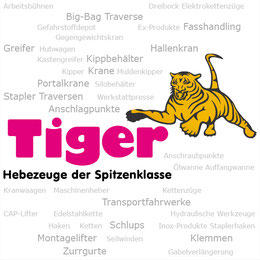 TigerHebezeuge - Kran Hebetechnik