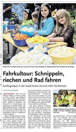 FahrKultour Presseberichterstattung NHZ