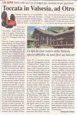 Gita n. 35 del 2014 OTRO