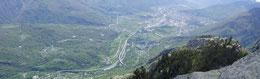 La Val d'Ossola dalla Colmine di Crevola