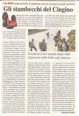 Gita n. 31 del 2014 LAGO DI CINGINO