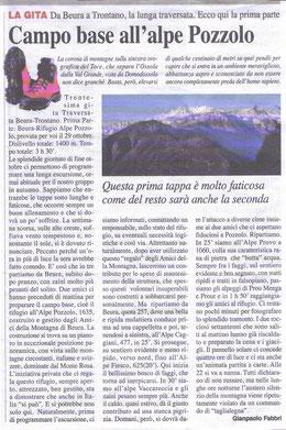 Gita n. 44 del 2014 ALPE POZZOLO