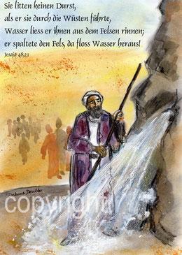 Moses in der Wüste