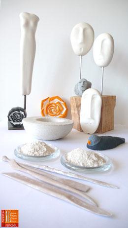 Objekte aus Beton & Keramikmasse