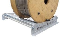 Kabelabroller und Kabelschutz