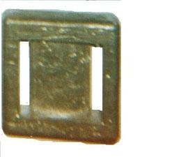 plombs carré pour ceinture de plongée