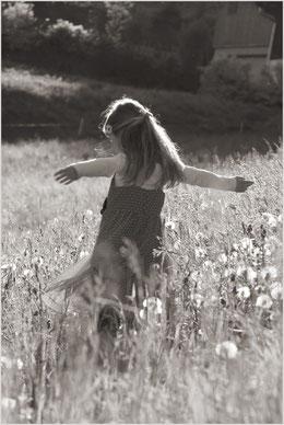 Ein Kind darf einfach so sein, wie es ist. Frei und unbeschwert.