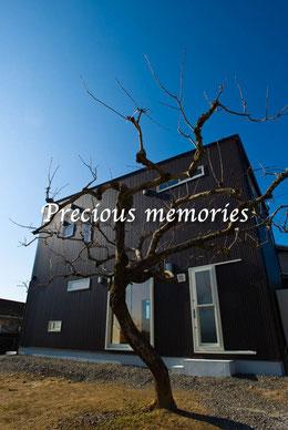 岐阜県美濃加茂市の建築工事写真です。RC造住宅の外観写真です。