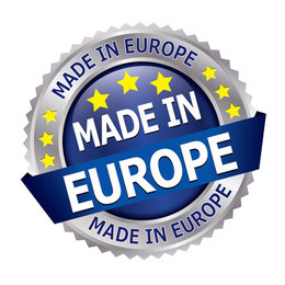Huckepack Babytragen, gefertigt in Europa.