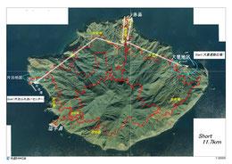 アイランドトレイル コースマップ