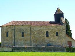 Church of Escurès (Vic-Bilh)