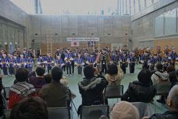 金沢こどもはしごのぼり披露式の始まり