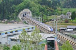 金沢からの新幹線