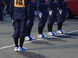 犀川分団のオレンジ&ブルー