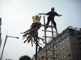 金沢子どもはしご登り