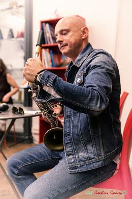 Avec JAZZ360, Guillaume Schmidt, saxophoniste, la Machine à Musique, Bordeaux, samedi 2 juin 2018