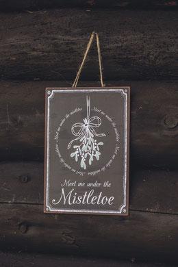 Weihnachtsdeko am Holzschuppen kann skandinavisch schön sein... Ib Laursen, erhältlich in der Sternschnuppe home & garden