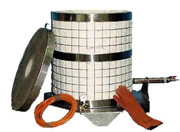 Le four raku cloche conçu par ARZLAO : 3 parties pour plus de maniabilité