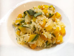 Risotto zucca   リゾット・ズッカ