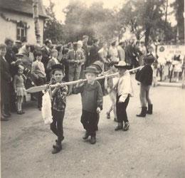 Bild: Wünschendorf Erzgebirge Schul und Heimatfest 1965