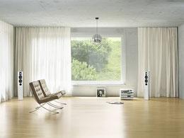 Akustikvorhang, Schallvorhang, Creation Baumann, Vorhangfachgeschäft, Akustikräume, Akustiklösungen, Vorhänge by Ruoss
