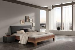Bett, Holzbett, Bettenberatung, Liegeberautng, Matratzenberatung, Bettenfachgeschäft, Schlafen by Ruoss