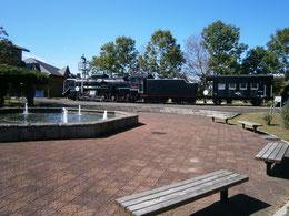 記念公園 噴水 広場