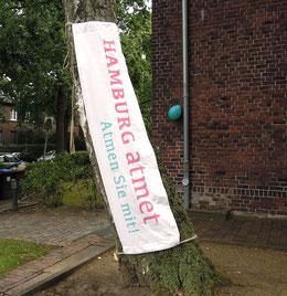 das HAMBURG-atmet-Banner