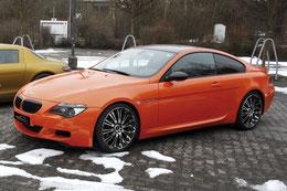 M6 von Silber > zu Orange metallic