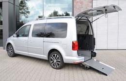 vw caddy behindertengerecht oder als komfortables taxi. Black Bedroom Furniture Sets. Home Design Ideas