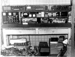 Kinderzimmer Arbeits- und Meßplatz um 1980