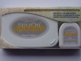 StazOn Opaque inkpad