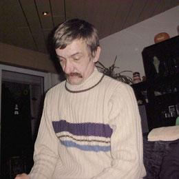 Dieter bei Manu 2002
