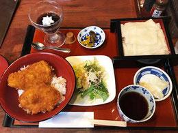 ミニソースカツ丼セット