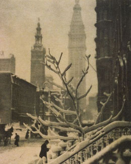 Alfred Stieglitz, Two Towers-New York