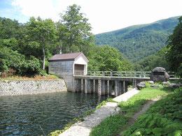 大鳥池制水門