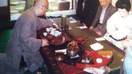 5月3日 竹原森川邸で中国茶をいただく