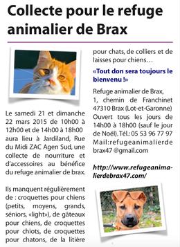Version papier, dansle journal Septgratuit n°237 du jeudi 12 mars 2015...
